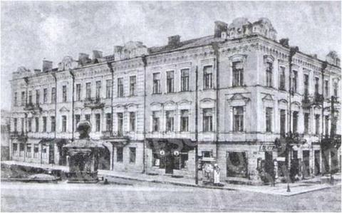 """Centrinis"" viešbutis (Anos Press namai) (Laisvės al. 21 / Nepriklausomybės a. 13)"