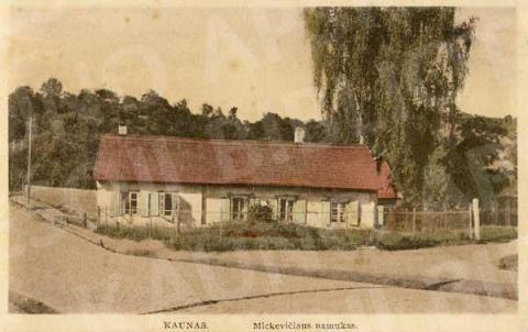 Adomo Mickevičiaus namelis (A. Mickevičiaus g.)