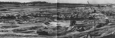 Kauno hidroelektrinės ir jos infrastruktūros statybos