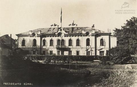 Lietuvos valstybingumo ženklai Kaune 1918–1940 m.