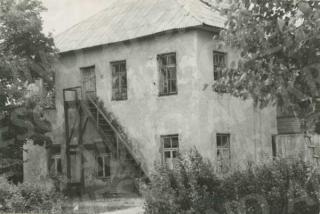 Romainių dvaro pastatas. 1967 m.