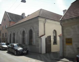 Vienas iš Miesto dvarelio pastatų (L. Zamenhofo g. 7). 2012 m.