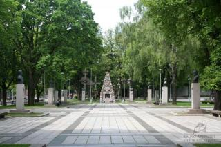Vytauto Didžiojo karo muziejaus sodelis. 2009 m.