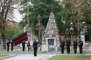 Žuvusiųjų už Lietuvos laisvę pagerbimo ceremonija. 2013 m.