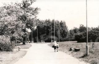 Žaliakalnio ąžuolyno parkas. XX a. 8-9 deš.