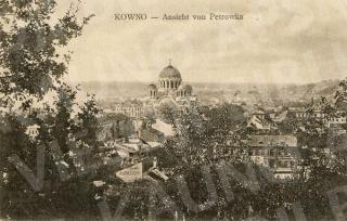 Vaizdas nuo Petro kalno į Naujamiestį. XX a. pr.