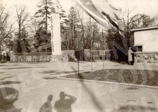 Įėjimas į Kauno zoologijos sodą. XX a. 8–9 deš.