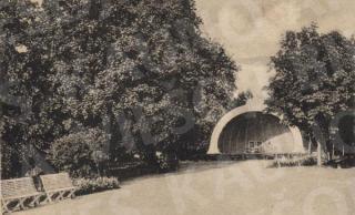 Estrada Vytauto parke. XX a. 3–4 deš.