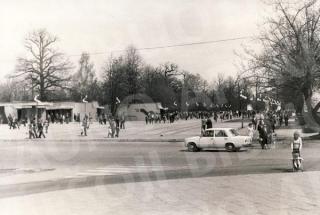 Parodos ir Sporto gatvių sankryža. 1980 m.