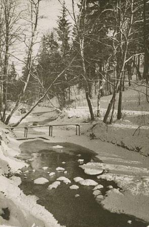 Girstupis pavasarį. 1960 m.