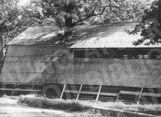 Pramprekybos baldų sandėliai prie stadiono. 1967 m.