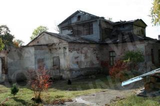 Aukštosios Panemunės dvaro rūmų liekanos. 2008 m.