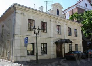 Buv. Žemaičių vyskupo rezidencija (dab. M. Valančiaus g. 6)