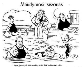 """""""Maudymosi sezonas"""""""
