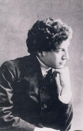 Markas Šagalas Sankt Peterburge. Apie 1909 m.