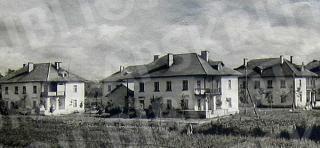 J. Janonio popieriaus fabriko gyvenvietė Petrašiūnuose. XX a. 6 deš.