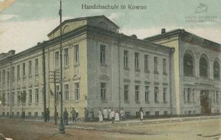 Kauno komercijos mokykla. XX a. 2 deš. pab.
