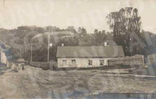 Adomo Mickevičiaus namelis XX a. pradžioje