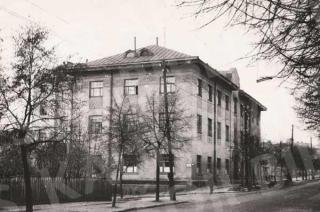Pastatas S. Nėries g. 1960 m.