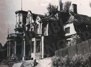 Buvęs Felikso Vizbaro namas 1970 m.