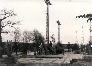 Respublikinio sporto kombinato stadionas 1980 m.