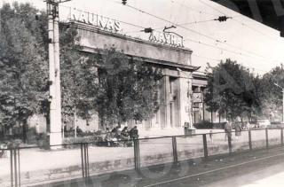 Antroji Kauno geležinkelio stotis iš perono pusės XX a. 8 deš.