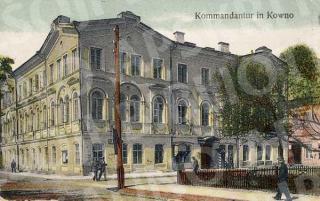 Komendantūra Pirmojo pasaulinio karo metais