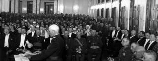 Iškilmingas Karininkų ramovės atidarymas. 1937 m. balandžio 23 d.