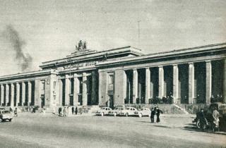 Kauno geležinkelio stotis. Apie 1960 m.