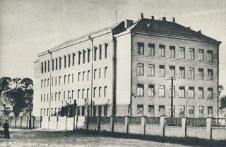 Kauno 12-oji vidurinė mokykla. Apie 1960 m.
