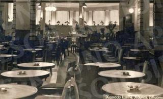 M. Konrado kavinės interjeras XX a. 4 deš.