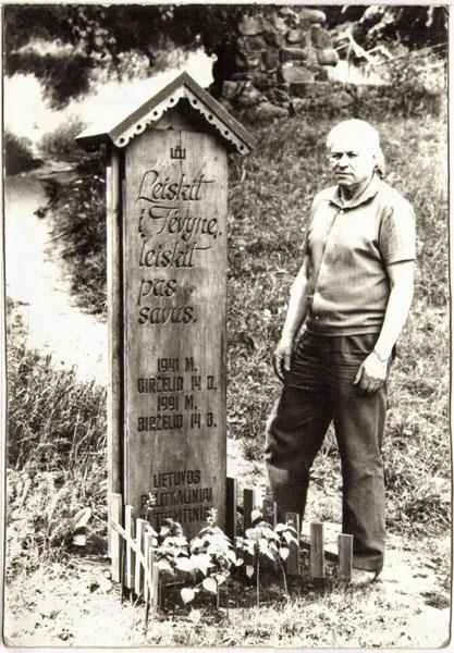 Dainų slėnyje. 1991 m.