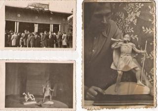 Iš 1959 m. Ąžuolyno paviljone vykusios tautodailininkų parodos