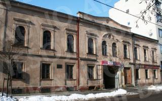Pastatas, kuriame vyko M. Šagalo darbų paroda (dab. Maironio g. 11). 2009 m.