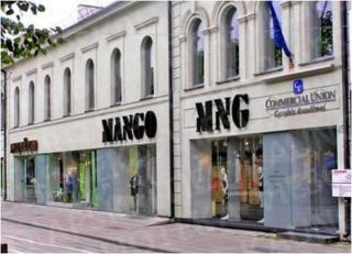 """Parduotuvė """"Mango"""" 2004 m."""