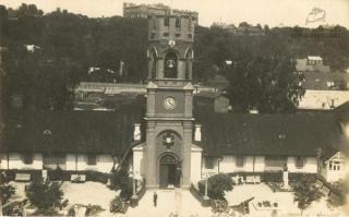 Senasis karo muziejaus pastatas. XX a. 3 deš.