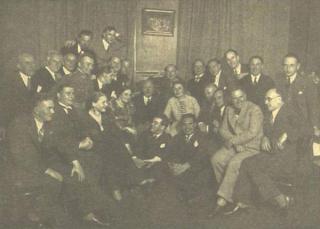 Fiodoras Šaliapinas tarp Valstybės operos artistų
