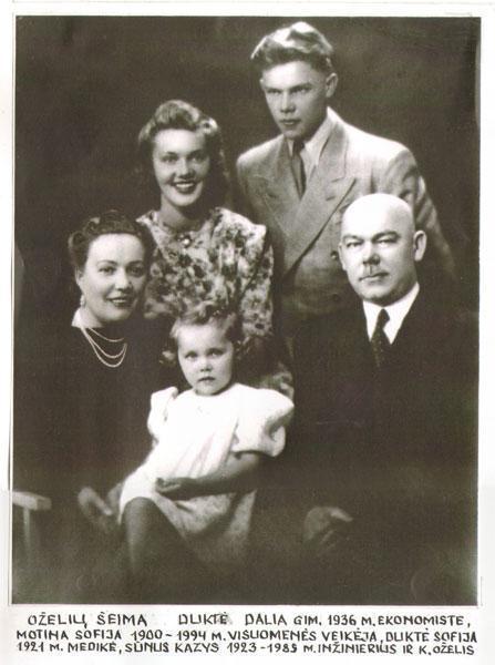 Oželių šeima