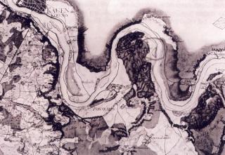 Naujųjų Rytprūsių XVIII a. žemėlapyje pažymėta PONIEMON (Panemunė)