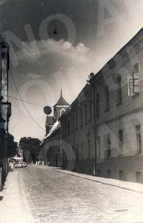 Kauno psichoneurologinė ligoninė sovietmečiu.