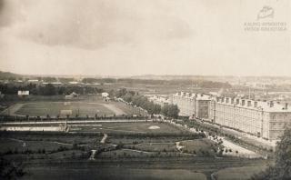 Karo mokykla Aukštojoje Panemunėje. XX a. 3–4 deš.