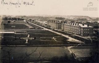 Pirmojo Lietuvos Prezidento karo mokykla Aukštojoje Panemunėje. 1930 m.