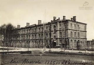 Karo mokykla Aukštojoje Panemunėje. 1926 m.