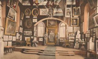 Senojo karo muziejaus pastato vidus. XX a. 3–4 deš.