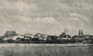 Santakos paplūdimys 1938 m.