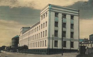 Vytauto Didžiojo universiteto Didieji rūmai. XX a. 4 deš. pradžia