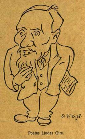 Poetas Liudas Gira