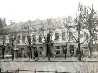 """""""Teatro"""" vaistinė 1977 m."""