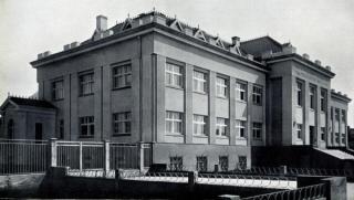 Veterinarijos akademijos centriniai rūmai. XX a. 4 deš.