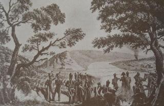 Napoleono armijos persikėlimas per Nemuną ties Kaunu